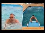 85 साल की उम्र में धर्मेंद्र का जज्बा, हैरान करने वाला वाटर एरोबिक्स, योग दिवस का सबसे वायरल Video