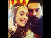 #ShaadiShuru: शुरू हुई युवराज सिंह हेज़ल कीच की शादी की रस्में...देखिए तस्वीरें