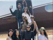 अपने हवाई जहाज से गोआ पहुंची है करीना कपूर की टोली...बेस्ट फ्रेंड अमृता का बर्थडे मनाने