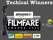 फिल्मफेयर अवार्ड्स 2020 - जानिए तकनीकी विजेताओं की लिस्ट, वॉर - उरी और गली बॉय की बाज़ी