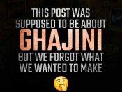 #Ghajini2: आमिर खान और धमाकेदार एलान - देखिए टीज़र पोस्ट