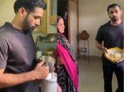 तुम्बाड स्टार सोहम शाह अपनी माँ से सीख रहे है कुकिंग- बनाये पकोड़े- वीडियो वायरल
