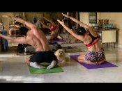 भाई इब्राहिम के साथ योगा करती दिखीं सारा अली खान, शेयर की PHOTO- लोग कर रहे हैं जमकर तारीफ