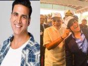 PM नरेंद्र मोदी ने खींचे अक्षय कुमार के बेटे आरव के कान, ऐसा था पापा का रिएक्शन-वायरल हुई तस्वीर