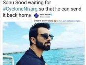 सोनू सूद ने खुद किया वादा निसर्ग तूफान को भी घर भेज दूंगा, वायरल हुए memes