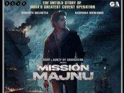 'थैंक गॉड' के बाद, सिद्धार्थ मल्होत्रा की 'मिशन मजनू' की शूटिंग भी शुरु, शेयर की पहली झलक