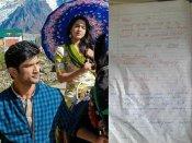 Pics: सुशांत सिंह राजपूत ने पर्सनल डायरी में लिखी थी उनकी और सारा की केदारनाथ लव स्टोरी