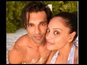 करण सिंह ग्रोवर के जन्मदिन पर बिपाशा बसु बिकिनी में दिखीं बेहद Hot, मालदीव में सिजलिंग रोमांस