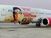 हवाई कंपनी स्पाइसजेट ने सोनू सूद को किया सलाम, विमान पर लगाई एक्टर की तस्वीर-सेलेब्स ने भी की तारीफ