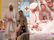 गुरूद्वारा में शादी के बंधन में बंधे हरमन बावेजा, शिल्पा शेट्टी सहित दोस्तों ने शेयर की Wedding Pics
