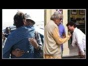 बाबिल ने पिता इरफान -अमिताभ बच्चन की गले मिलते हुए तस्वीर की शेयर,बोला- नफरत को अनदेखा करो