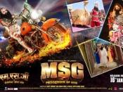 हरियाणा, चंडीगढ़ में ALERT के बीच रिलीज को तैयार MSG