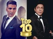 #Top10: दुनिया में दो ही लोगों का नाम - शाहरूख खान और अक्षय कुमार