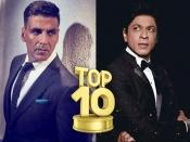 शाहरूख - सलमान - अक्षय कुमार को झटका...TOP 10 लिस्ट से OUT!