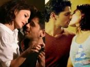 S*X सीन के दौरान खो बैठे काबू..कट कहने के बाद भी KISS करते रह गए.. अकेले में देखें तस्वीरें