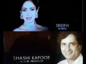 #Respect - ऑस्कर अवार्ड में किया गया श्रीदेवी और शशि कपूर को याद..दी गई श्रद्धांजलि