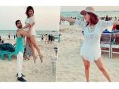 टीवी की सीता ने बर्थडे पर पानी में लगा दी आग, पति के साथ सफेद ड्रेस में सेक्सी तस्वीरें Viral