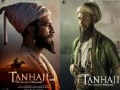 तानाजी से अजय देवगन ने रिलीज किए 3 धमाकेदार पोस्टर्स- शिवाजी और औरंगजेब बनेगे ये कलाकार