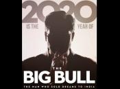 POSTER: अभिषेक बच्चन की फिल्म 'द बिग बुल' की पहली झलक- अजय देवगन ने किया शेयर