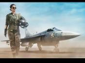 First LOOK: एयरफोर्स पायलट बनीं कंगना रनौत- फिल्म 'तेजस' की पहली झलक है दमदार