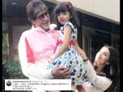 बहूरानी ऐश्वर्या और पोती आराध्या के कोरोना निगेटिव होने पर भावुक हुए अमिताभ बच्चन, लिखा पोस्ट