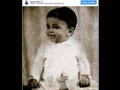 Pic Of The Day: अभिषेक बच्चन ने शेयर की अमिताभ बच्चन के बचपन की क्यूट सी तस्वीर