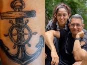तो टैटू आर्टिस्ट भी हैं इरा खान, जिम ट्रेनर के हाथ में बनाया ये शानदार टैटू