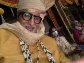जया बच्चन - श्वेता बच्चन के साथ शूटिंग कर रहे हैं अमिताभ बच्चन, चोरी से शेयर की तस्वीर