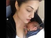 सेलिना जेटली ने तस्वीरों में बांटा नवजात बेटे को खोने का दुख, एक का अंतिम संस्कार, दूसरा ICU में