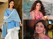 दिवाली 2020- शिल्पा शेट्टी, कियारा से लेकर ट्विंकल खन्ना, बॉलीवुड कलाकारों का खूबसूरत फेस्टिव लुक