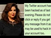 फराह खान का ट्विटर हैक, फैंस के लिए लिखा ये पोस्ट