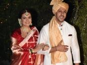 PICS- दीया मिर्जा ने रचाई वैभव रेखी संग शादी, ये है दुल्हन की पहली तस्वीर- लाल जोड़े में लग रही बेहद खूबसूरत