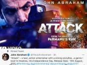 जॉन अब्राहम ने15 अगस्त वीकेंड पर किया तीसरी बार अटैक, रिलीज़ डेट फाईनल