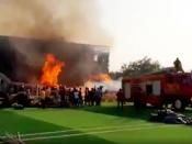 प्रभास - सैफ अली खान स्टारर आदिपुरूष के सेट पर आग, आज ही शुरू हुई थी शूटिंग, मौके पर 10 फायर ब्रिगेड