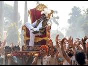 फिल्म 'दसवीं' की शूटिंग कर रहे हैं अभिषेक बच्चन, सेट से सामने आई जबरदस्त झलक, शानदार