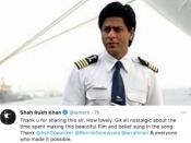 अमरीकी सैनिकों को ये जो देस है तेरा गाता देख भावुक हुए शाहरूख खान, ट्वीट कर लिखी ये बात