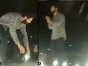 वायरल वीडियो - भेड़िया सेट पर कार पर चढ़ कर वरूण धवन ने फैन्स से हाथ जोड़कर कहा - शूटिंग करने दो