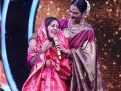 इंडियन आइडल शो में फिसली रेखा की जुबान, शादीशुदा आदमी के प्यार में पागल वाले सवाल पर दिया जवाब