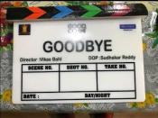 अमिताभ बच्चन और रश्मिका मंदाना स्टारर फिल्म 'गुडबाय' की शूटिंग हुई शुरू- मुहूर्त शॉट की तस्वीरें
