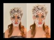 कोरोना का खौफ तो उर्वशी रौतेला ने पहना डायमंड से जड़ा भारी मास्क, इंटरनेट पर छाईं तस्वीरें