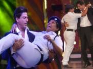 विपक्ष को भी रास नहीं आया शाहरुख का ऑन ड्यूटी महिला कांस्टेबल को बाहों में भरना