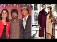 रणवीर-दीपिका की शादी में पहुंचे शाहरुख खान, संजय लीला भंसाली और फराह खान