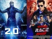 2.0 बॉक्स ऑफिस: 2018 की चौथी बड़ी फिल्म, अक्षय कुमार ने किया सलमान की रेस 3 को पीछे