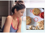 इस एक्ट्रेस के खाने में दिखा 'रेंगता कीड़ा', 5 स्टार होटल के खाने से हुईं बीमार, Video वायरल