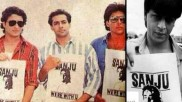 संजय दत्त की गिरफ्तारी के विरोध में सड़क पर उतरे थे शाहरूख, सलमान, श्रीदेवी, अजय, अक्षय - वायरल तस्वीर