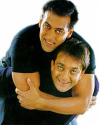 Salman with Sanjay
