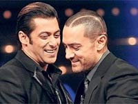 Salman with Aamir