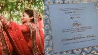 रणबीर - आलिया की शादी का कार्ड हुआ इंटरनेट पर लीक, तारीख और डीटेल्स वायरल!