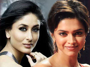 Now friends, Kareena and Deepika.