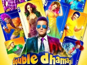 Double Dhamaal is a comedy. Sequel to Dhamaal, it is about the four friends – Manav (Jaaved Jaffrey), Adi (Arshad Warsi), Roy (Ritesh Deshmukh) and Boman (Aashish Chowdhary) – and their encounter with Kabir (Sanjay Dutt) who is no longer a police officer.